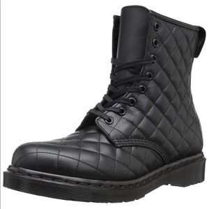 Dr. Martens Women's Coralie Quilted Leather Boot